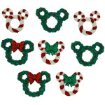 Dress It Up Licensed Embellishments - Disney Wreath & Canes