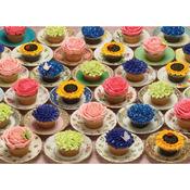 "Cupcakes & Saucers - Jigsaw Puzzle 1000 Pieces 10""X14"""