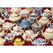 "Teapots - Jigsaw Puzzle 1000 Pieces 10""X14"""