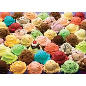 "Ice Cream - Jigsaw Puzzle 1000 Pieces 10""X14"""