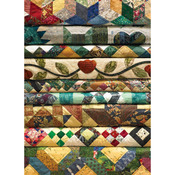 """Grandma's Quilts - Jigsaw Puzzle 1000 Pieces 10""""X14"""""""