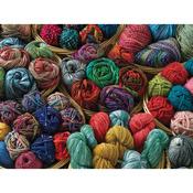 "Jigsaw Puzzle 500 Pieces 10""X14""-Balls Of Yarn"