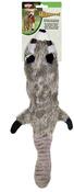 "Raccoon - Skinneeez Stuffing Free Dog Toy 23"""