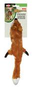 "Fox - Skinneeez Stuffing Free Dog Toy 14"""