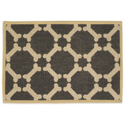 "Brown - Natural Jute Placemats 13""X9"""