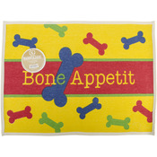 "Bone Appetit - Fashion Forward Cotton Mat 19""X25.5"""
