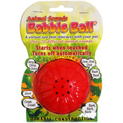 Yellow - Large Animal Sounds Babble Ball
