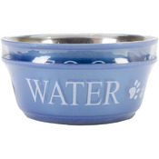 Blue - Food & Water Set Medium 1qt