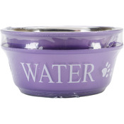 Lilac - Food & Water Set Medium 1qt