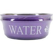 Lilac - Food & Water Set Large 2qt