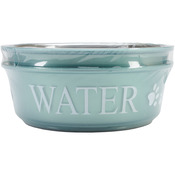 Teal - Food & Water Set Large 2qt