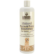 Natural Flea & Tick Shampoo W/Oatmeal For Dogs 16.9oz-