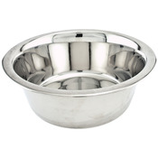 Economy Stainless Steel Dish 3qt