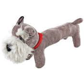 Fetch - A - Pal With Squeaker Plush Schnauzer Dog Toy-
