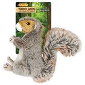 Woodlands Large Plush Squirrel Dog Toy