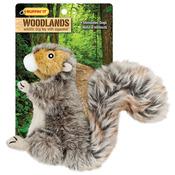 Woodlands Small Plush Squirrel Dog Toy