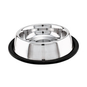 Stainless Steel Non - Skid Dish 16oz-