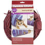 Petlinks Twinkle Chute Tunnel Cat Toy With Lights