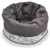 """P.L.A.Y. Large Snuggle Bed 18"""" Diam X 25""""-Husky Gray"""