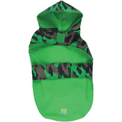 """Jelly Wellies Camouflage Raincoat Extra Small 11""""-Green"""