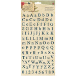 "Papermania Nature's Gallery Alphabet Stickers 6""X11""-"