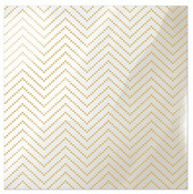 Chevron Gold Dotted  Acetate Sheet - Clearly Posh - WRMK