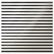 Stripe Black Acetate Sheet - Clearly Posh - WRMK