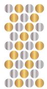 Gold & Silver Enamel Dots - WRMK