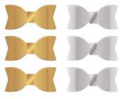 Gold & Silver Acetate Bows - WRMK