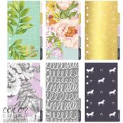 Color Crush Personal Planner Lavender Divider Set Kit