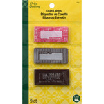 Handmade - Dritz Quilting Sew-In Embroidered Labels 9/Pkg