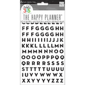 The Happy Planner Stickers - Alpha Black