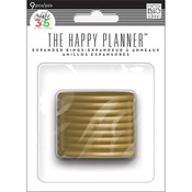 Create 365 Planner Expander Rings 9/Pkg - Gold