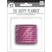 Create 365 Planner Expander Rings 9/Pkg - Pink