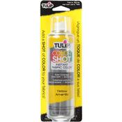 Tulip Color Shot Instant Fabric Color Spray 3oz - Yellow