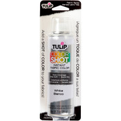 Tulip Color Shot Instant Fabric Color Spray 3oz - White