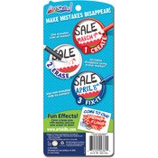 Erasable Dual Ended Markers 4/Pkg-