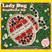 Lady Bug - Mosaic Stepping Stone Kit
