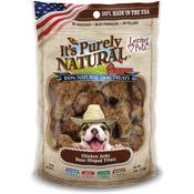 It's Purely Natural Treats 4oz - Chicken Jerky Bone - Shaped