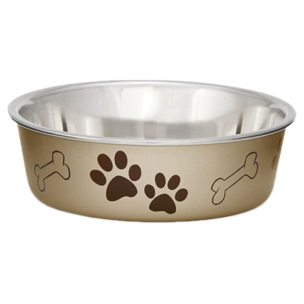 Metallic Bella Bowl Small - Champagne