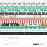 Holly Jolly 6.5 x 6.5 Paper Pad - KaiserCraft