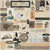 Devoted Details Cardstock Stickers - Authentique