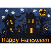 "Happy Halloween - Latch Hook Kit 40""X27"""