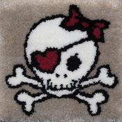 "Skull - Latch Hook Kit 15""X15"""