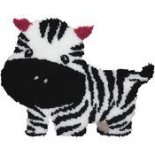 "Baby Zebra - Latch Hook Kit 26""X20"""