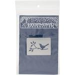 Bird On The Branch - Dreamweaver Metal Stencil