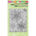 Snowflake Sky Cling Rubber Stamp - Stampendous Christmas