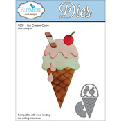 Ice Cream Cone - Elizabeth Craft Metal Die
