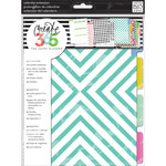 Create 365 Planner Month Extension Pages - Teal/Gold