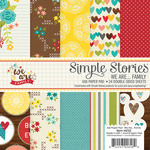 We Are Family 6 x 6 Paper Pad - Simple Stories